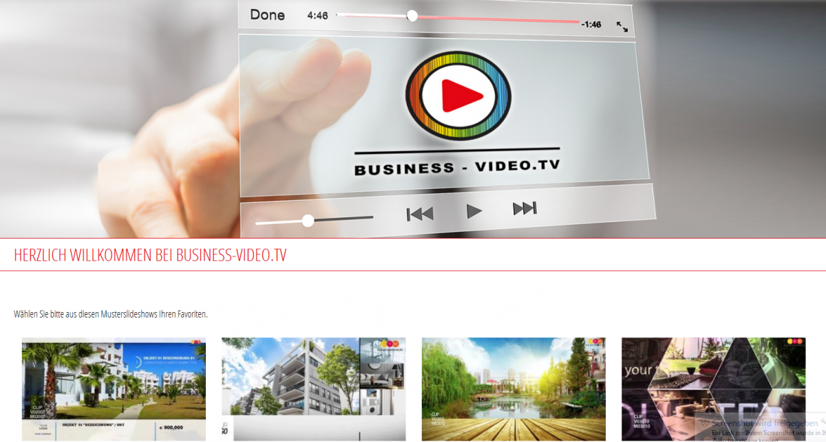 BUSINESS VIDEO TV