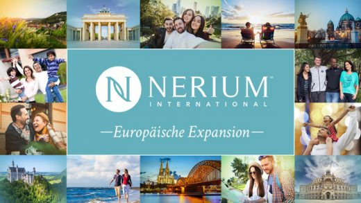 NERIUM INTERNATIONAL STARTET VERKAUF IN EUROPA
