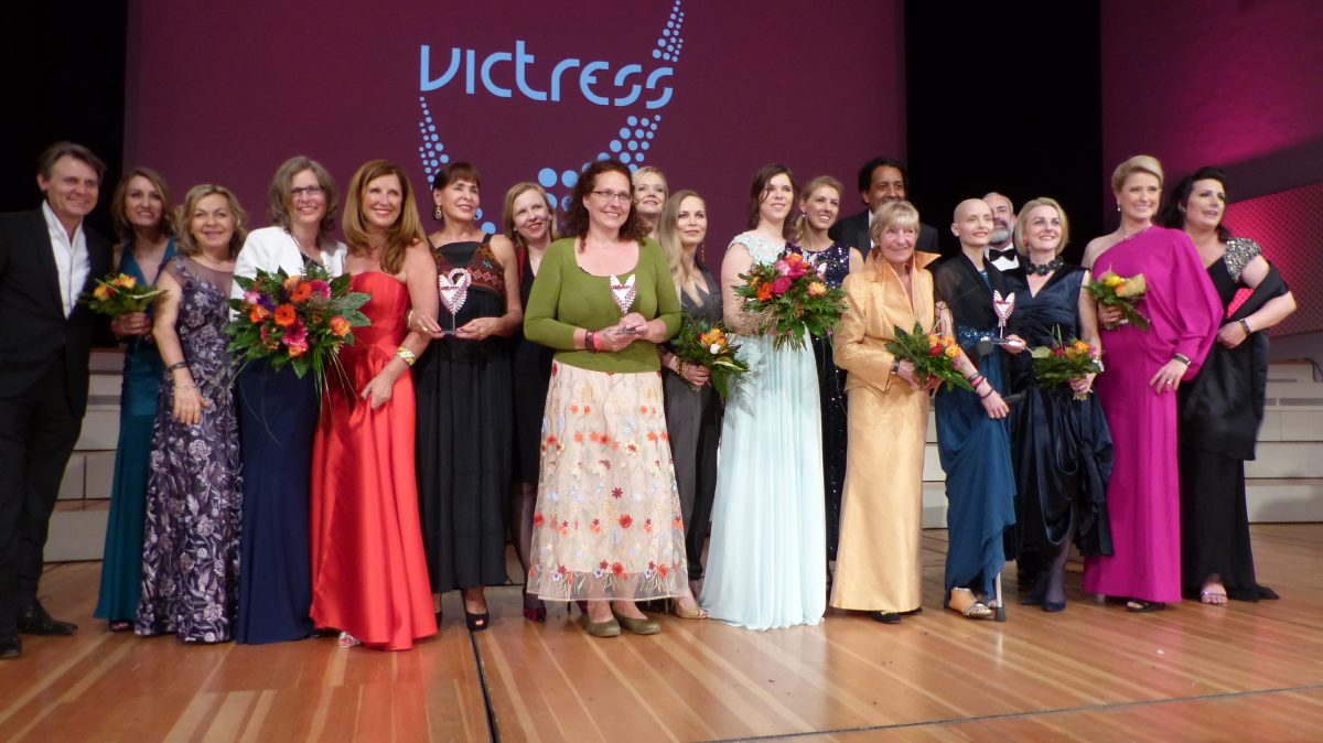 VICTRESS, VICTRESS AWARDS, 13. VICTRESS AWARDS GALA, VICTRESS GALA, HEIDI HETZER, RUTH MOSCHNER, VICTRESS BERLIN