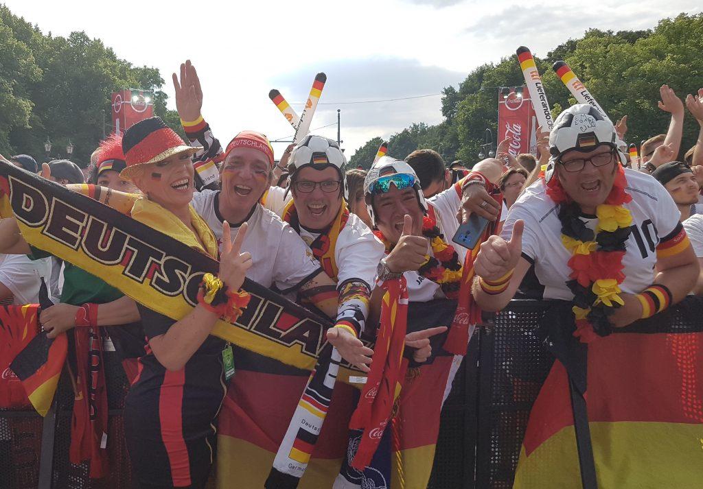 FUSSBALL WM 2018, FANMEILE BERLIN,